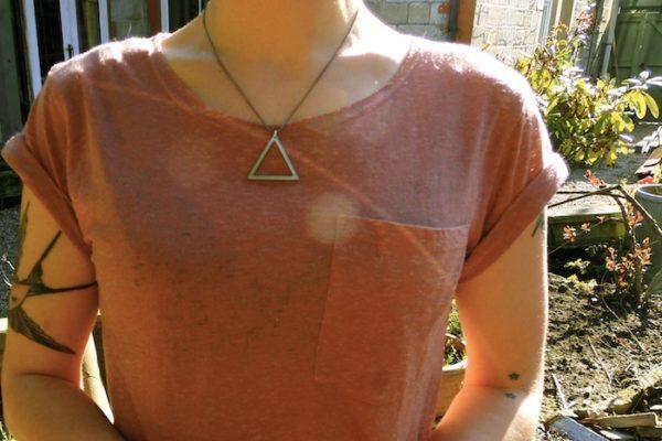 Fire element necklace