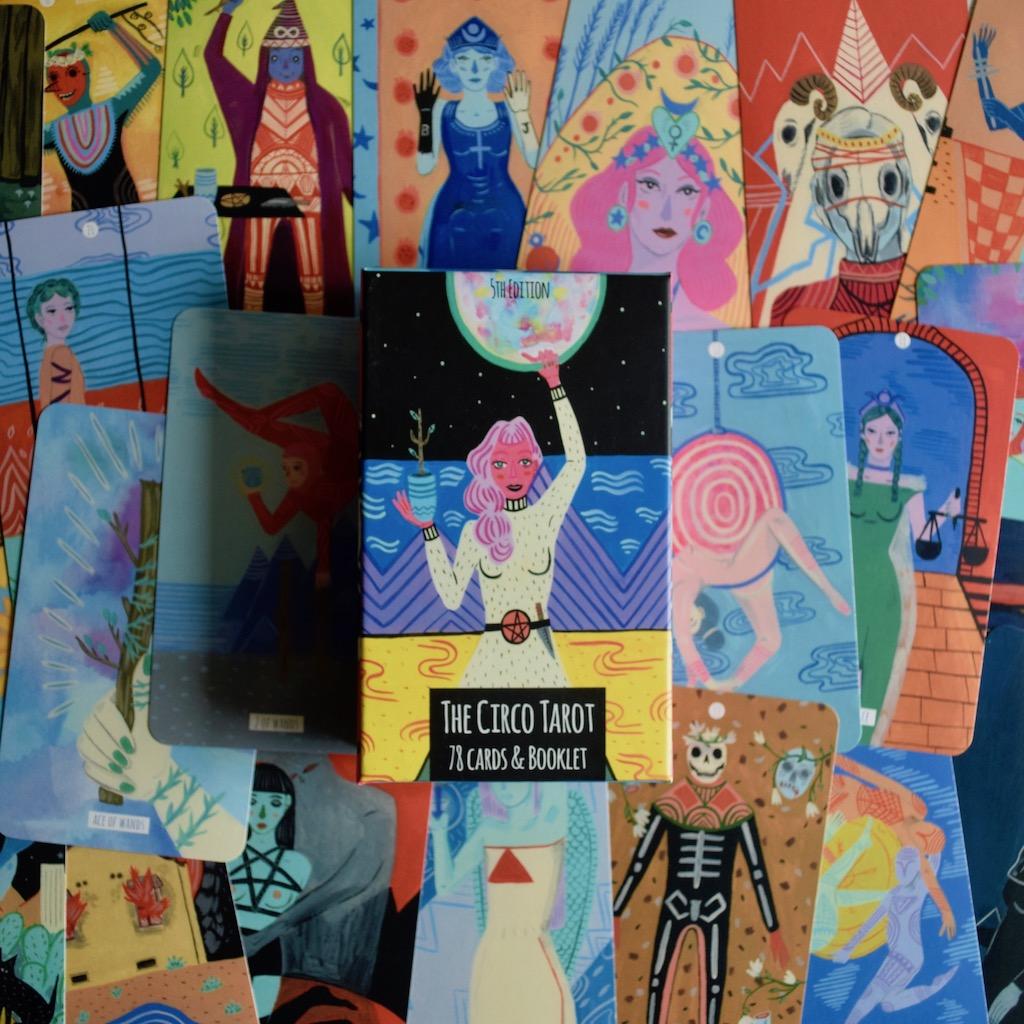 The Circo Tarot, by Marisa de la Peña | Little Red Tarot Shop