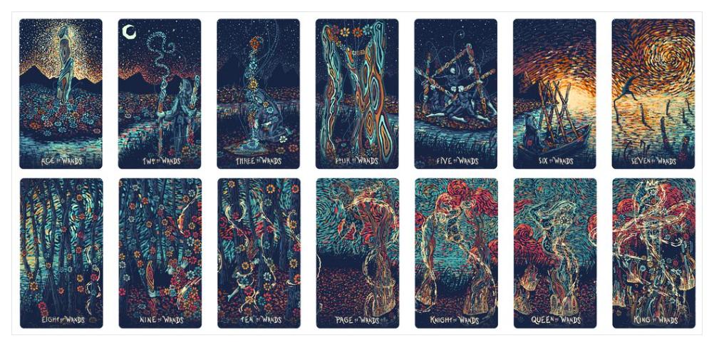 Prisma Visions Tarot | Little Red Tarot