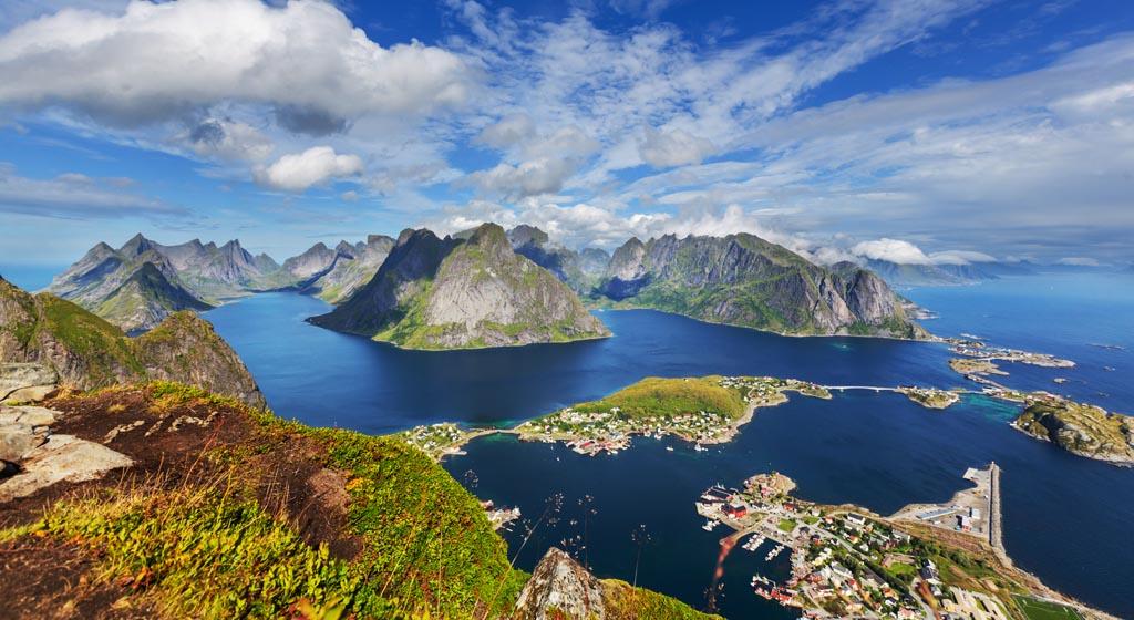 Fjord Village Little Red Tarot