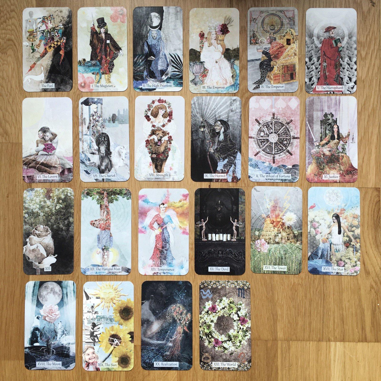 The Textured Tarot, by Lisa McLoughlin | In the Little Red Tarot Shop