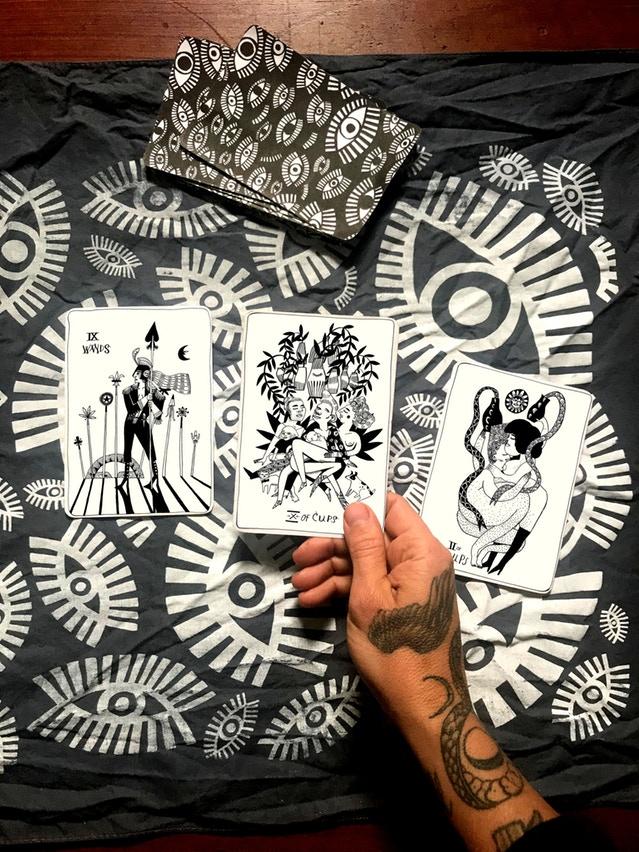 The Many Queens Tarot, By Lettie Jane Rennekamp