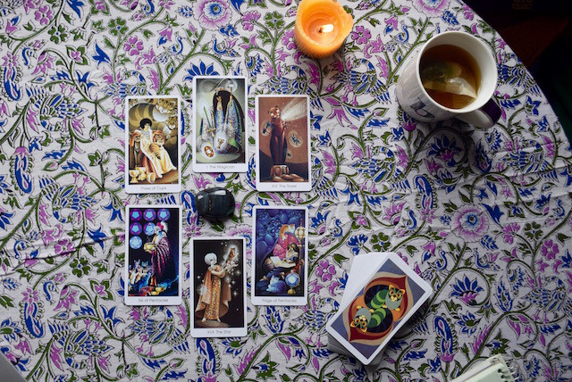 Tarot Deck Interview Spread