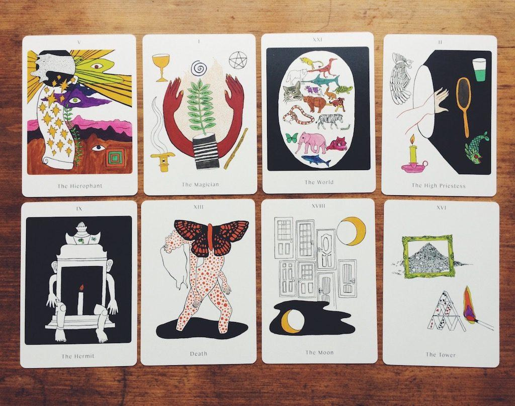 Apparition Tarot review & highlights   Little Red Tarot